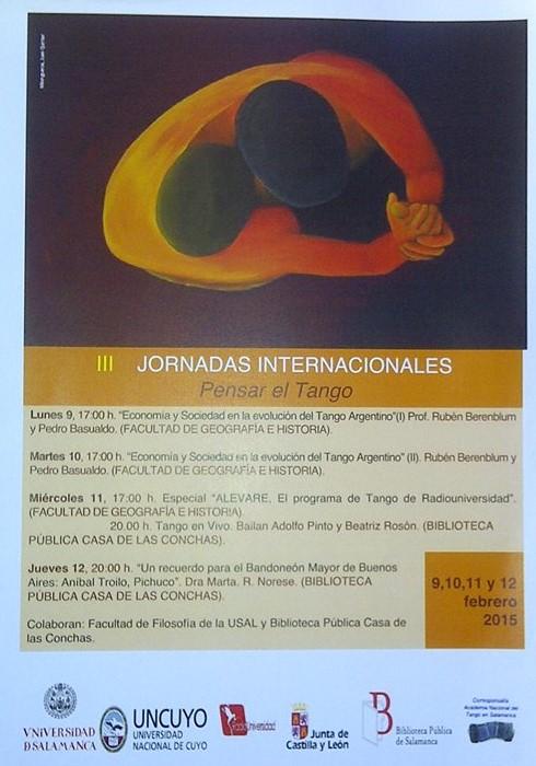 III Jornadas Internacionales de Tango